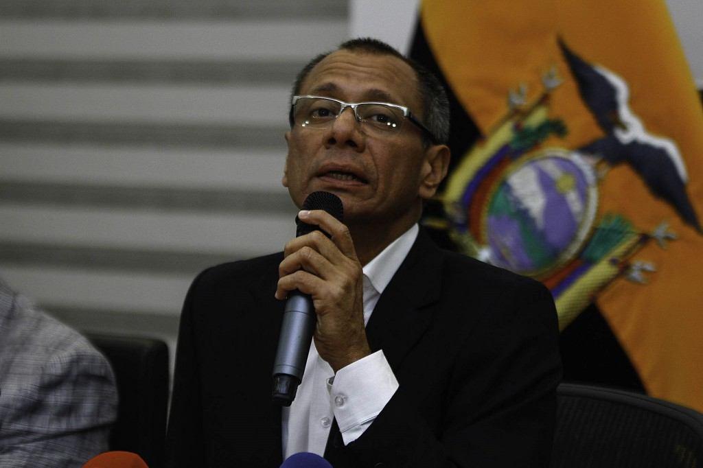 """""""Hay que recordar que el vicepresidente de Ecuador está preso"""" / Flickr: Presidencia Ecuador"""