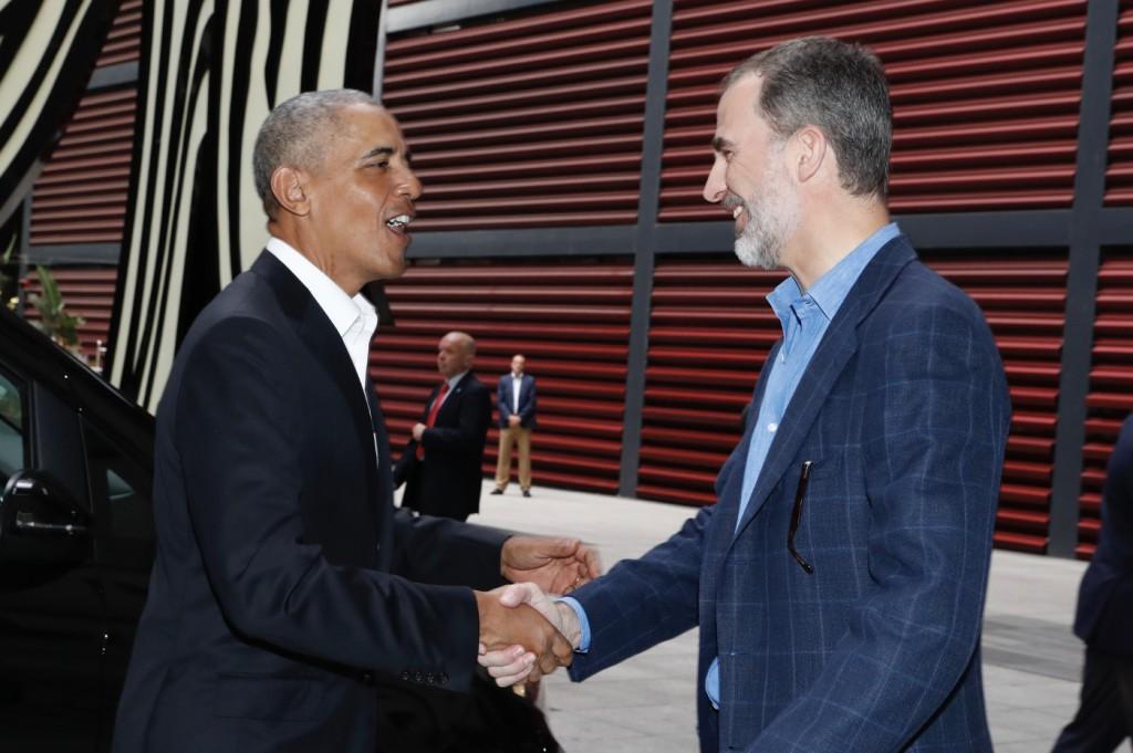 Obama visitó el Museo Reina Sofía con el Rey de España / Foto: Casa Real
