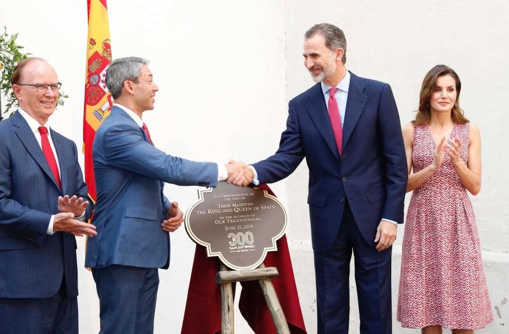 Los reyes de España visitaron San Antonio y Nueva Orleans / Foto: Casa Real
