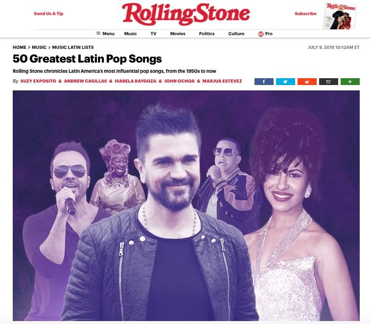 El power mexicano manda en la historia musical de Latinoamérica / Foto: Rolling Stone