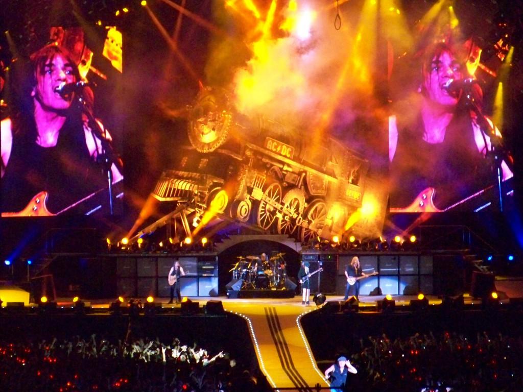 Sheeran rompió el récord de recaudación que logró AC/DC en 2010 / Foto: WC