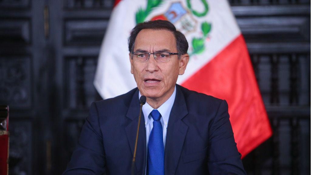 Vizcarra pidió la remoción del Consejo Nacional de la Magistratura / Foto: Presidencia Perú
