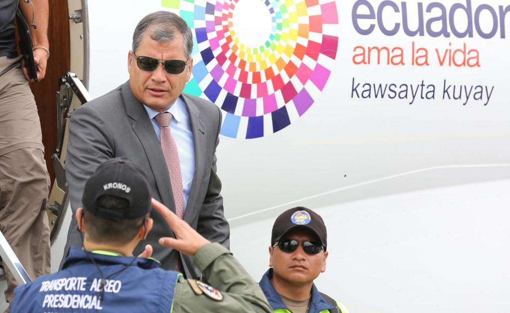 """""""Correa estaba obsesionado en reelegirse indefinidamente"""" / Flickr: Presidencia Ecuador"""