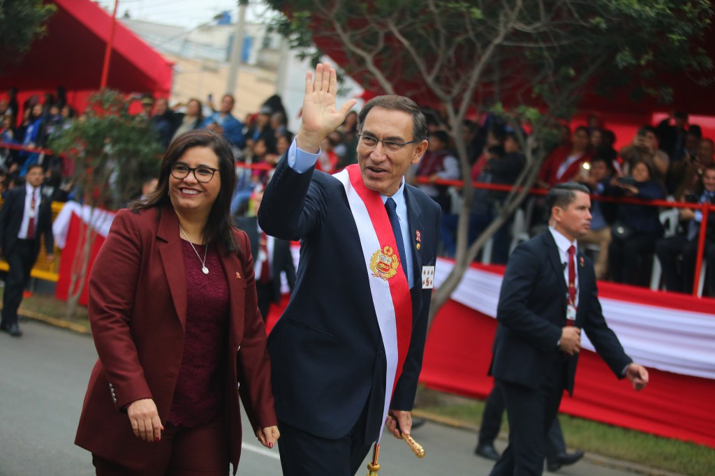 """Vizcarra se """"ha fortalecido"""" por las iniciativas que lo distancian del fujimorismo / Flickr: Presidencia Perú"""