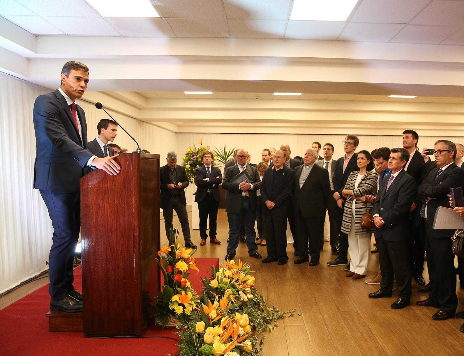 Sánchez se niega a calificar Venezuela como una dictadura / Foto: La Moncloa
