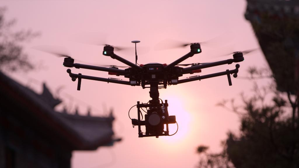El dron del presunto ataque tiene una alta calidad de filmación / Foto: DJI