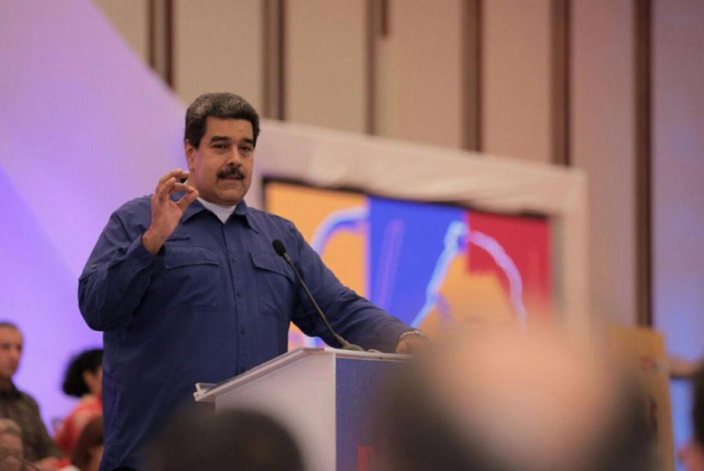 Maduro habló de sabotaje y prometió detenciones / Foto: @NicolasMaduro