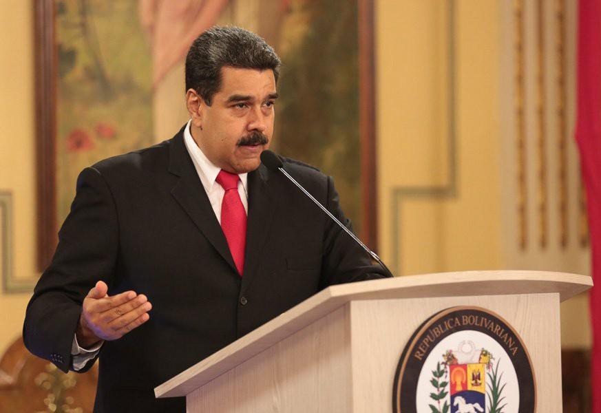 """""""Con la acusación contra Maduro sigue la estrategia del enemigo exterior"""" / Foto: Presidencia Venezuela"""