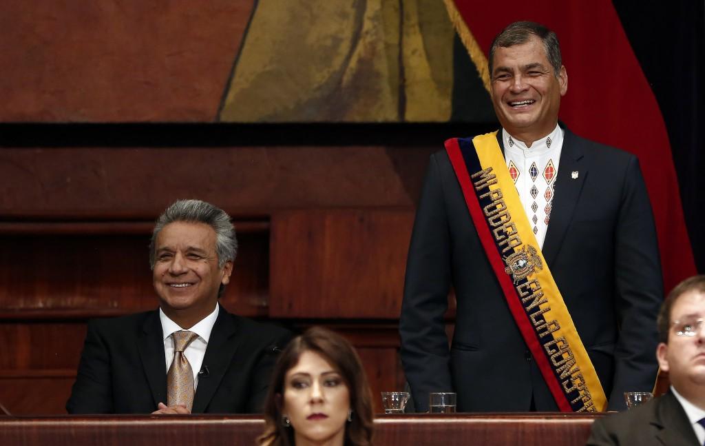 """Moreno: """"Me gustaría que Correa no vaya preso"""" / Flickr: Presidencia Ecuador"""