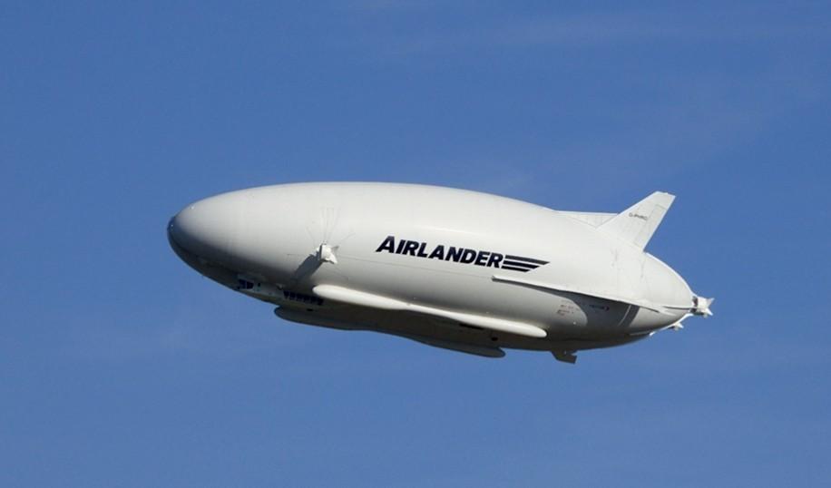 38.000 metros cúbicos de helio elevan a la aeronave / Foto: Hybrid Air Vehicles