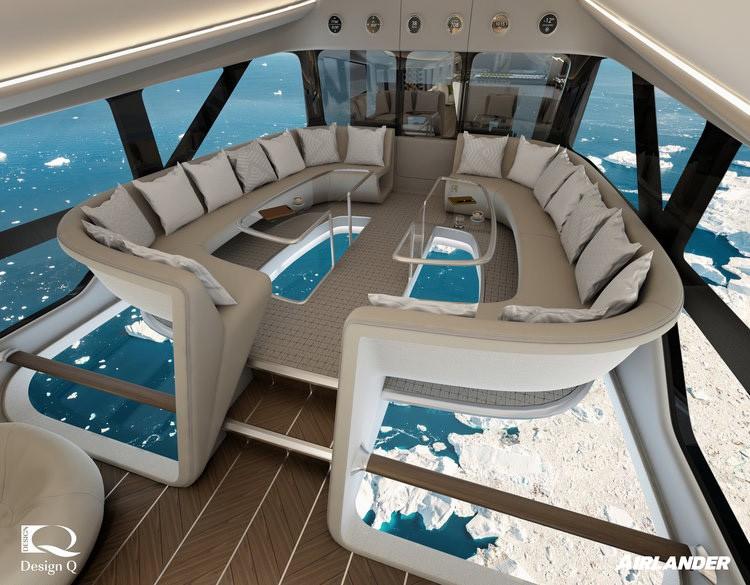 El diseño interior está hecho para el confort / Foto: Hybrid Air Vehicles