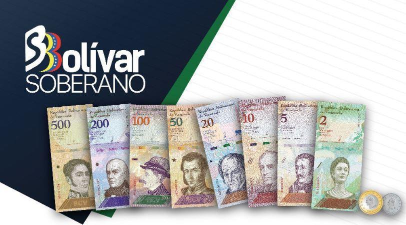 En cuestión de semanas el nuevo bolívar soberano no valdrá nada / Foto: BCV