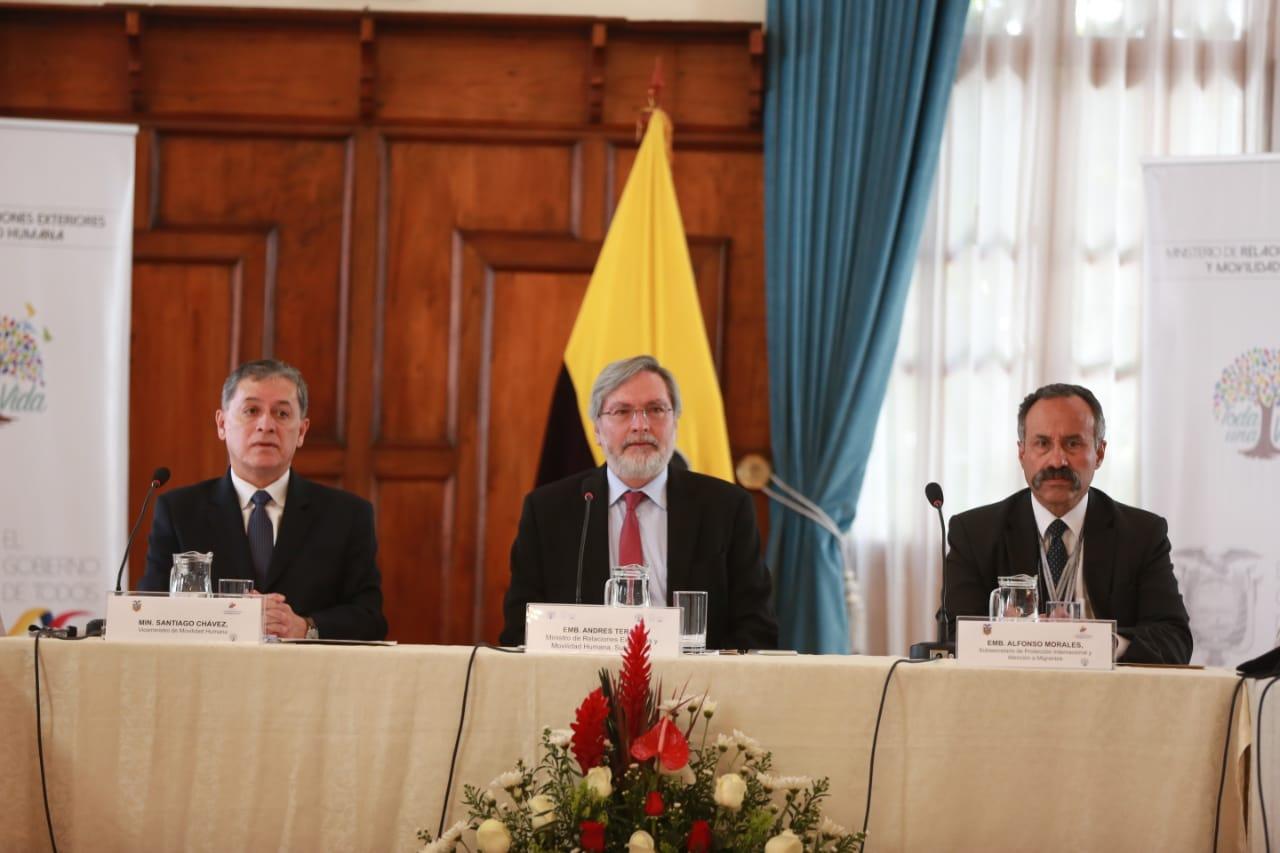 La reunión de Quito se prolongará hasta el marte / Foto: Cancillería de Ecuador