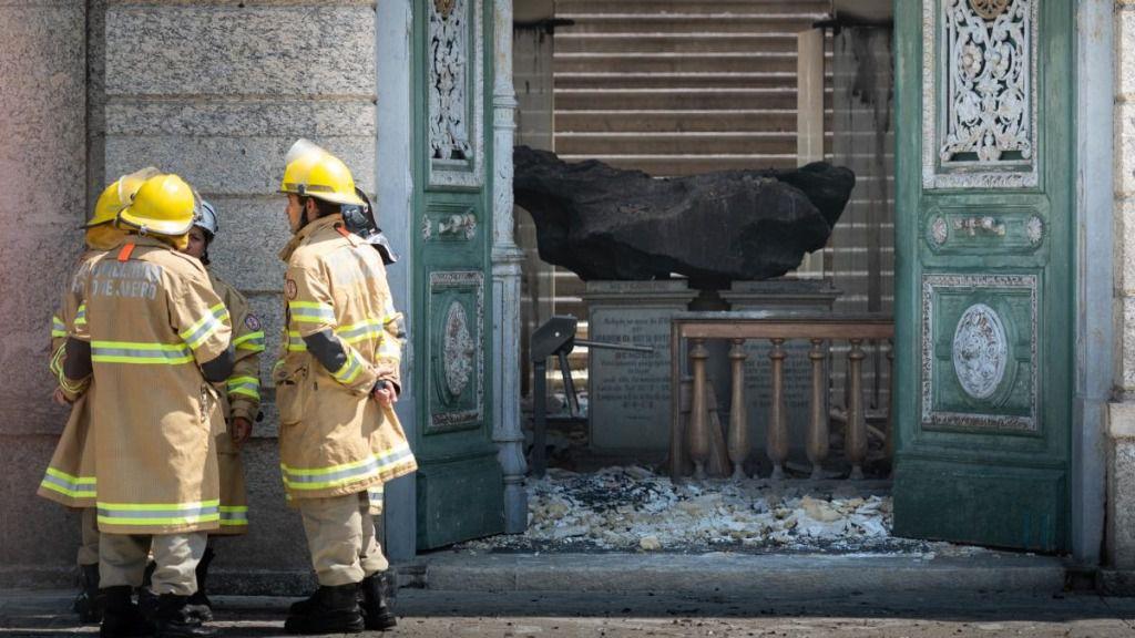 Banco Santander ayudará a reconstruir el Museo Nacional de Brasil / Foto: Raphael Pizzino (Coordcom/UFRJ)