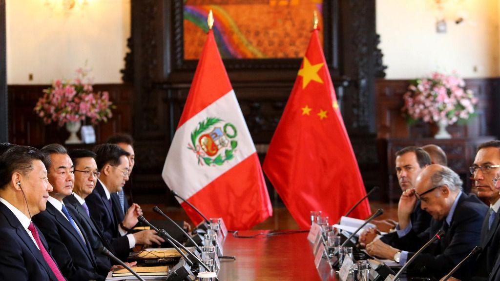 China es un gran socio comercial de Perú / Foto: Presidencia de Perú
