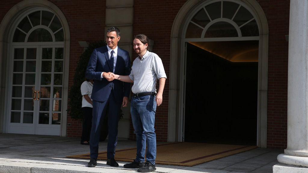 Iglesias quiere dictar la agenda internacional de Pedro Sánchez / Foto: Moncloa