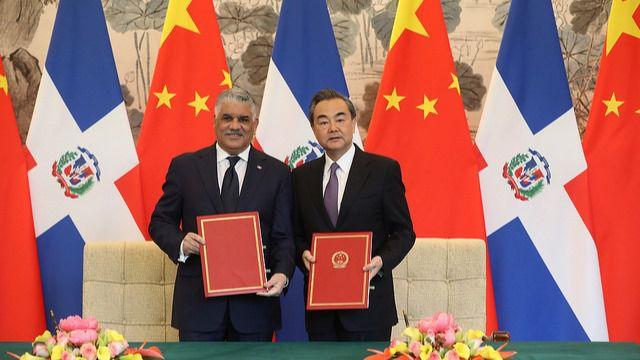 China y República Dominicana