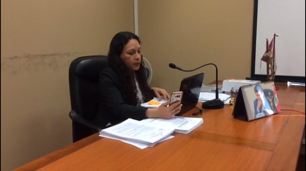 Es la primera evidencia que hay de un juicio hecho por WhatsApp / Foto: Poder Judicial