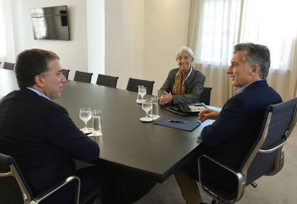 Lagarde no quiere poner plazos al adelanto de fondos para Argentina / Foto: Casa Rosada