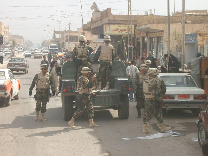 La invasión a Irak confirma que ha sido peor el remedio que la enfermedad / Foto: Wikipedia