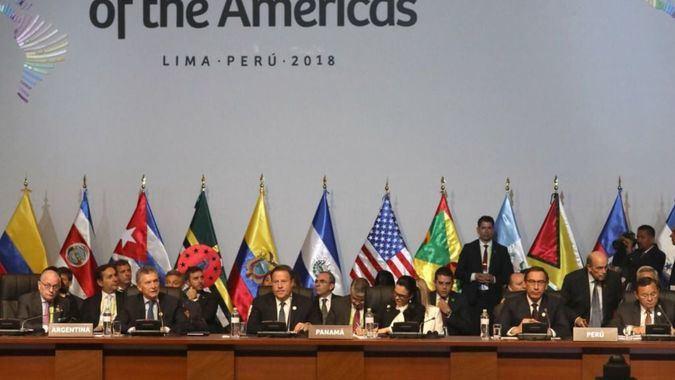 El Grupo de Lima rechazó las declaraciones de Almagro / Foto: Cancillería Perú