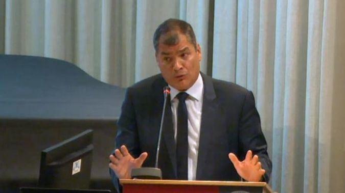 Moreno se ha desmarcado con firmeza de Rafael Correa / Foto: Universidad de Murcia