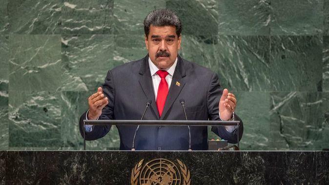 Nicolás Maduro no le respondió a Moreno en su larga intervención / Foto: ONU