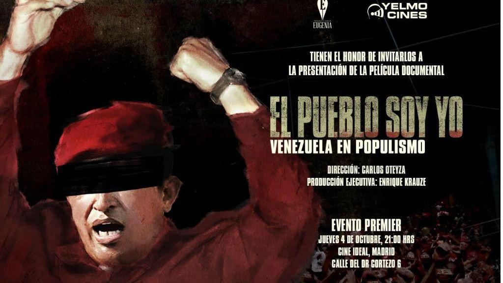 Además del libro, el director venezolano Carlos Oteyza ha realizado un documental sobre 'El pueblo soy yo' / Foto: Cedida