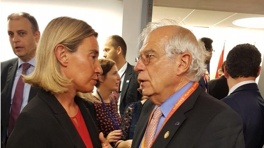 España apuesta por el diálogo y no renuncia a las sanciones / Foto: @JosepBorrellF