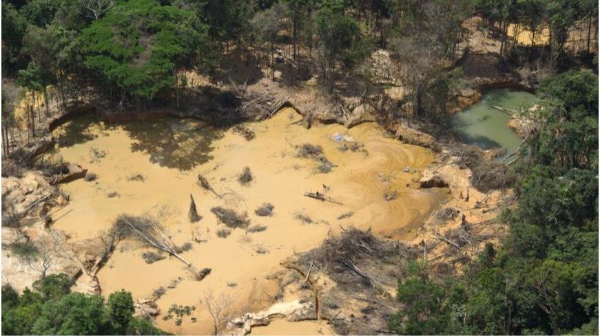 La actividad minera en Venezuela ha entrado en una especie de tierra de nadie / Foto: Provea