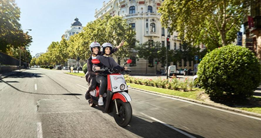 """Las scooter de Acciona prometen una factura """"por segundos reales de uso"""" / Foto: Acciona"""