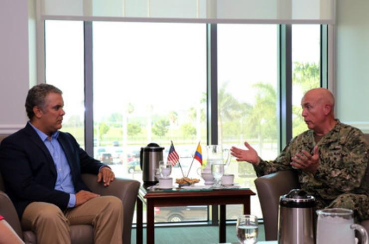 Públicamente, Duque descarta la opción militar en Venezuela / Foto: USA Defense