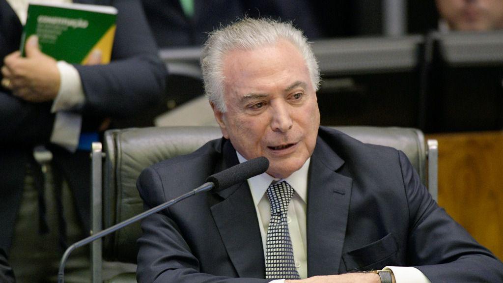 A Temer le sustituirá Bolsonaro el 1 de enero / Foto: Senado Federal