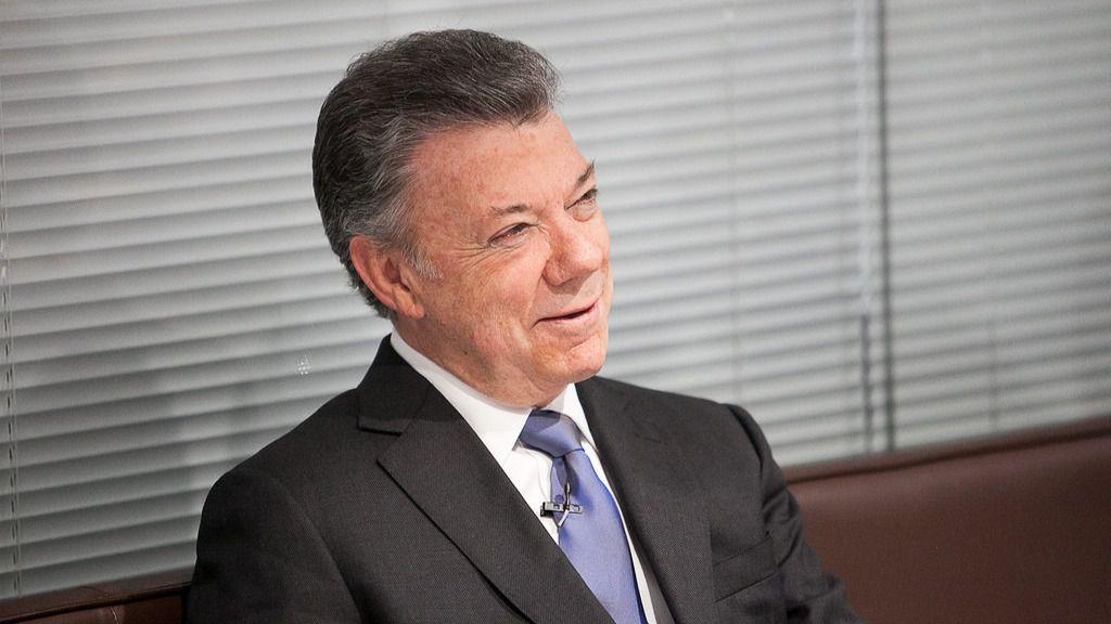 Santos no mencionó en la conferencia su gran logro: la paz con las FARC / Flickr: Chatham House