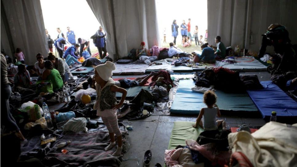 La caravana de refugiados ya está en México / Foto: Acnur - Daniel Dreifuss