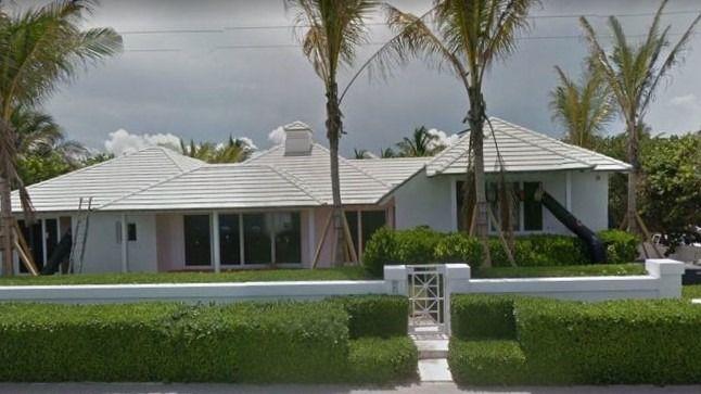 Esta es una de las mansiones de Andrade / Foto: Google Maps