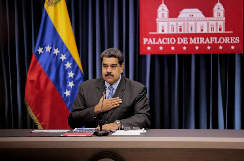Nicolás Maduro invitó a la boliburguesía al Palacio de Miraflores / Foto: Presidencia