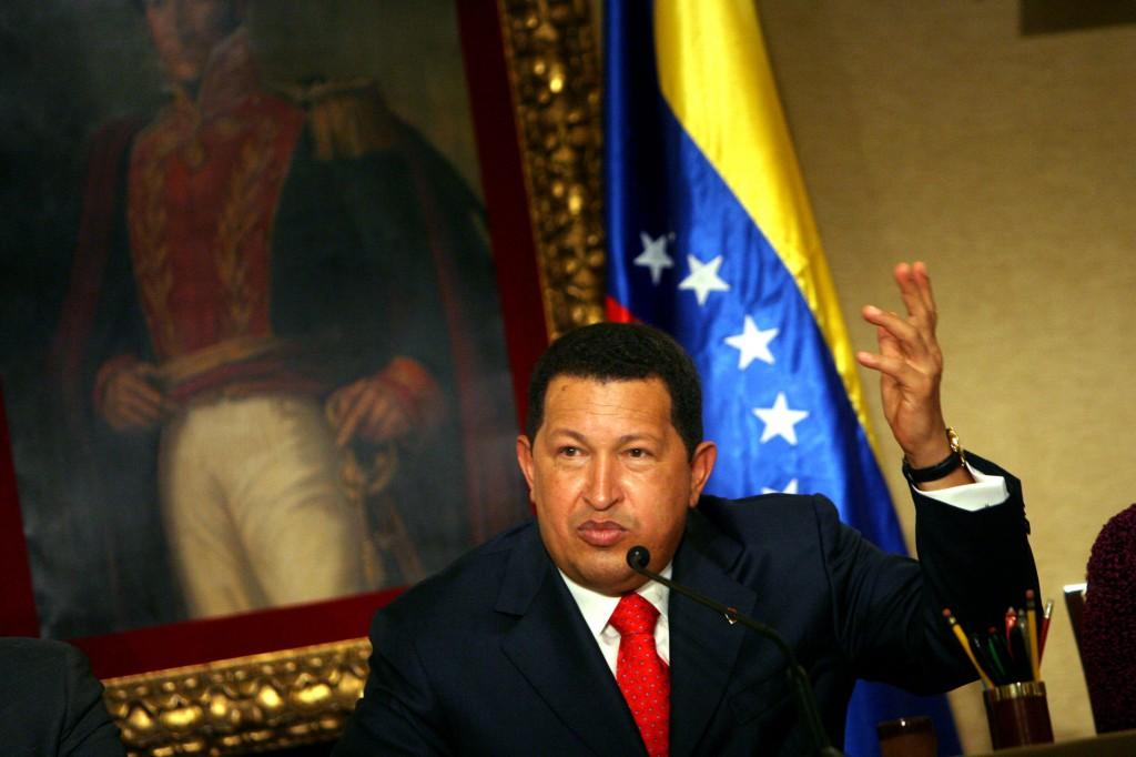 Hugo Chávez fue el gran protector de Alejandro Andrade / Foto: EFE