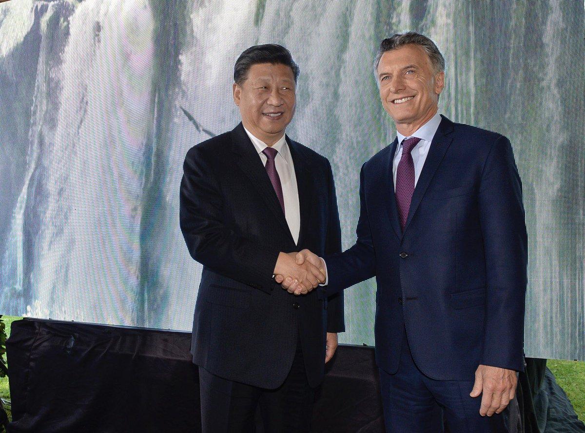 Macri y Xi anunciaron la firma de 30 acuerdos de inversión / Foto: Casa Rosada