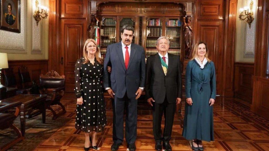 El discurso de López Obrador suena al de Chávez y Maduro / Foto: @NicolasMaduro