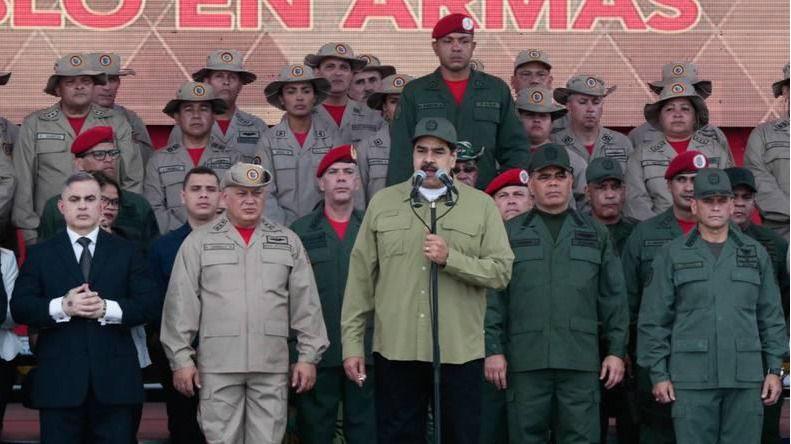 Maduro ha reforzado el discurso de la guerra / Foto: AVN