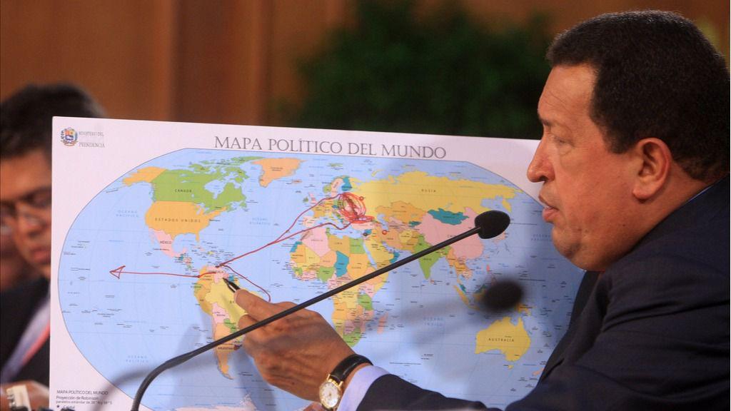 Más fotos de Maduro / Flickr: ChavezCandanga