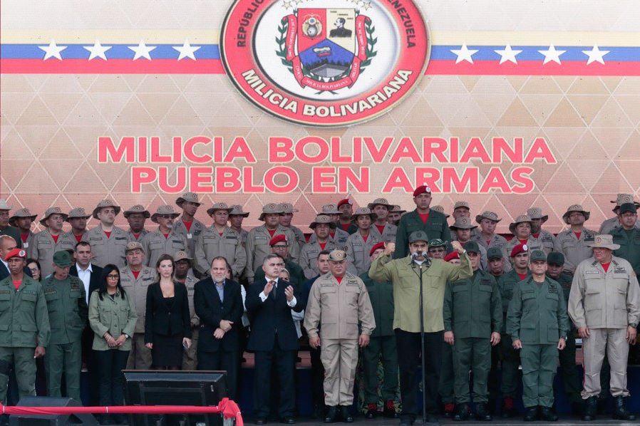 Nicolás Maduro aviva el discurso bélico / Foto: @NicolasMaduro