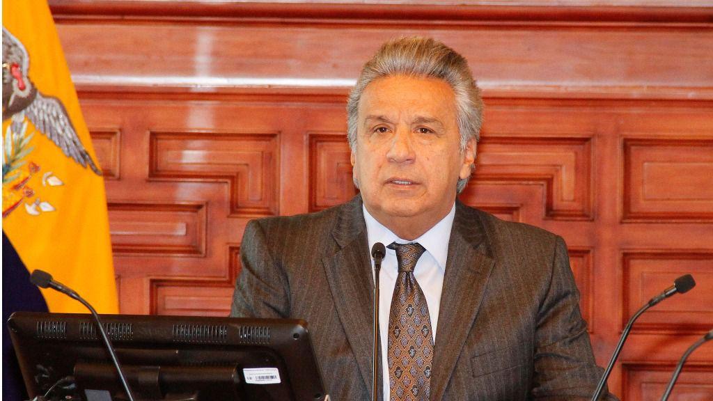Moreno denuncia los sobrecostes en cinco proyectos / Foto: Presidencia Ecuador