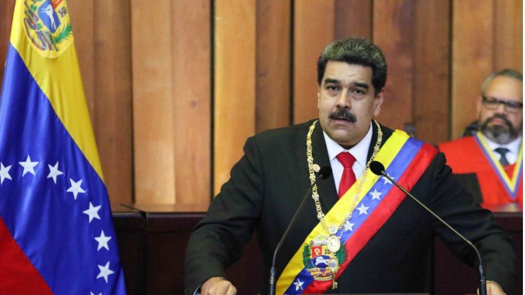 Maduro tomó posesión este jueves / Twitter: @ViceVenezuela