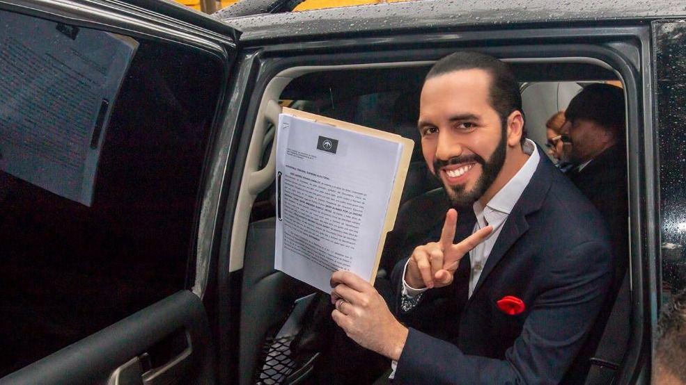 Si se cumplen las encuestas Bukele ganará las elecciones en El Salvador / Twitter: @Nayibbukele