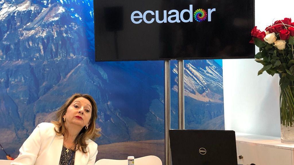La ministra de Turismo de Ecuador celebra el nombramiento de Guaidó como presidente legítimo / Foto: ALN