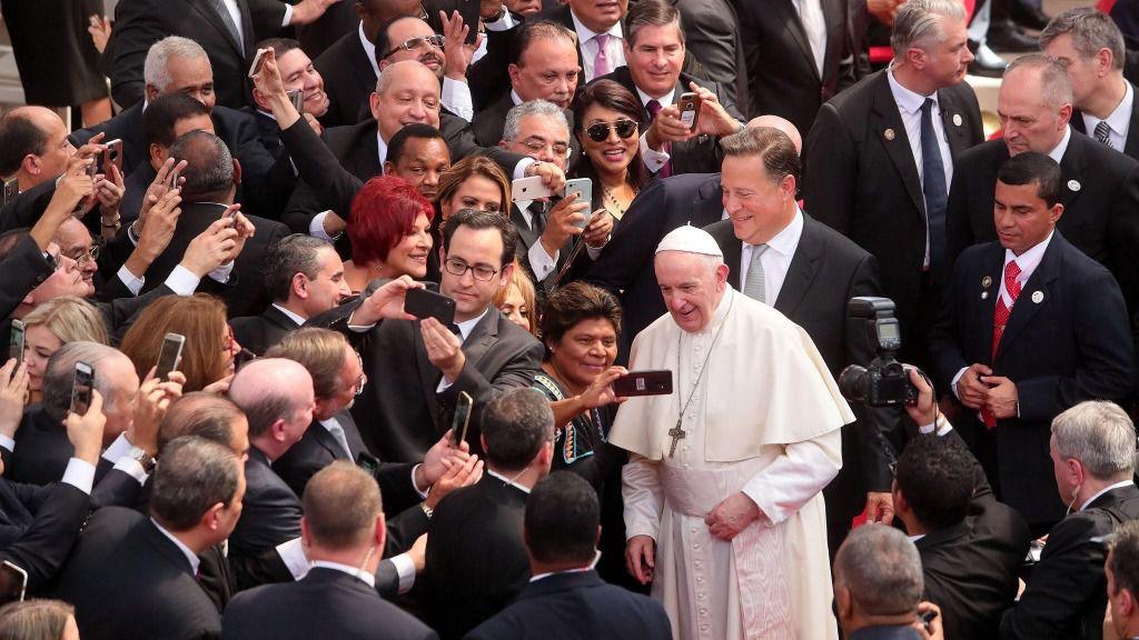 Papa en Panamá