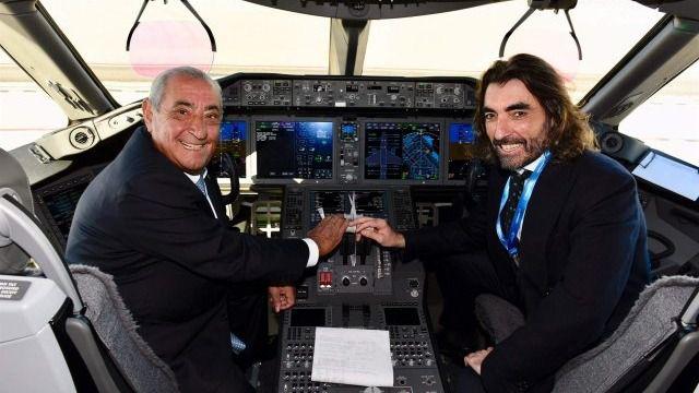 Los Hidalgo no aclaran las dudas del pacto de Air Europa con el gobierno venezolano / Foto: Air Europa