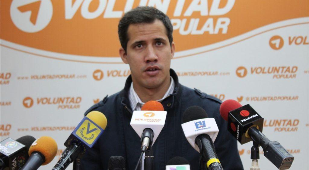 Se espera que el diputado Juan Guaidó presida la Asamblea Nacional / Foto: Voluntad Popular